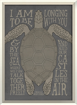 metal turtle wall decor.htm wall art sea turtle longing to be with you quote designer framed art  wall art sea turtle longing to be with